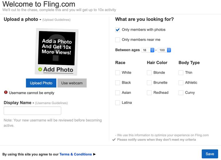 fling registration