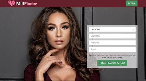 MilfFinder registration