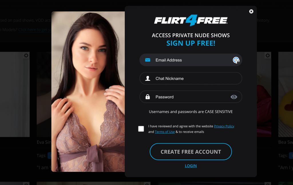 flirtforfree registration