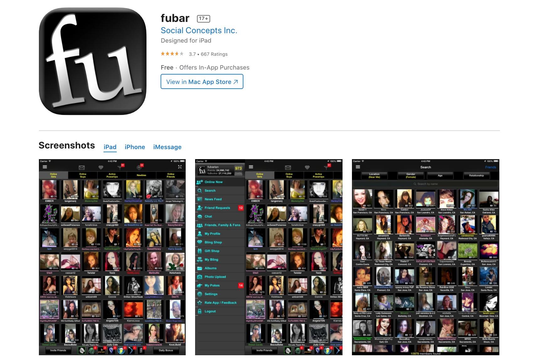 fubar app
